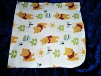 Soft /& Warm XL 41X41 inches for snug wrap Train Flannel Swaddling blanket