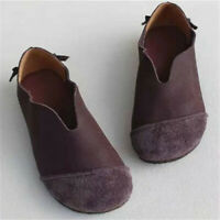 Women Slip On Soft Flat Pumps Ladies Comfort Casual Loafers Boat Shoes Moccasins
