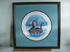 1987 420/1000 P Buckley Moss CHURCH WARDENS Framed Print Geese