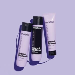 Matrix Total Results Unbreak My Blonde Shampoo & Conditioner 300ml & Leave In