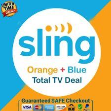 SlingTv Orange + Blue + Total Tv Deal 💻 1 Year Warranty Super Fast Delivery 😲