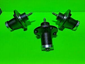 3 Pack Husqvarna 539131898 Cast Iron Spindle GT52XLS MZ61 MZT52 MZT61 YT48DXLS