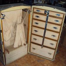 antica valigia armadio baule primi 900