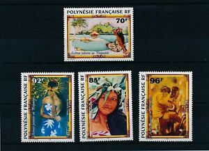 [331412] French Polynesia 1996 painting good set very fine MNH stamps