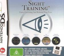 Sight Training - Enjoy Exercising and Relaxing Your Eyes !  Nintendo DS Game !