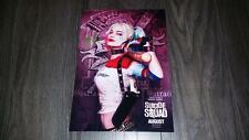 """SUICIDE SQUAD : HARLEY QUINN PP SIGNED 12""""X8"""" A4 PHOTO POSTER MARGOT ROBBIE"""