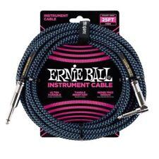 Cavi blu Ernie Ball per chitarre e bassi
