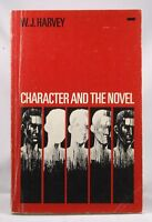 Character and the Novel - Harvey, W. J. Cornell University Press Paperback Book