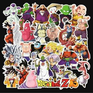 Waterproof 100-Pack Vinyl Sticker Bomb Dragon n Balls Decal Graffiti Laptop