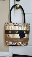 NEW! Puerto Vallarta Canvas Beach Bag Tote Bag With Coin purse NWOT