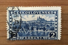 More details for czechoslovakia rare hradcany at prague castle 1926 2k landscapes & cities stamp