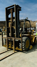 Catepiller Diesel 6000 Lb All Terrain Forklift With 2 Stage Mast