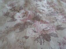 LAURA Ashley Sorbona pesante lino tessuto floreale