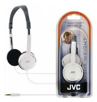 JVC HA-L50 WHITE Lightweight Stylish Stereo Headphones Original / Brand New
