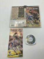 Sony PlayStation Portable PSP CIB Complete Tested Blood Bowl Ships Fast