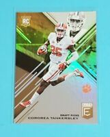 Cordrea Tankersley Rookie Clemson Tigers Dolphins 2017 Elite Gold 1/10