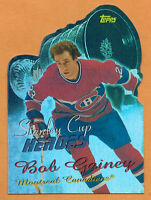 2000-01 , TOPPS , BOB GAINEY , STANLEY CUP HEROES , CARD #SCHBG