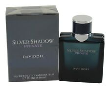 SILVER SHADOW Private 3.4/3.3 OZ EDT SPRAY FOR MEN NEW IN A BOX BY DAVIDOFF