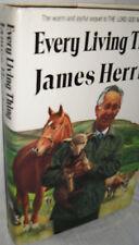 Every Living Thing James Herriott 1st Ed hb/dj book England animal life 1992