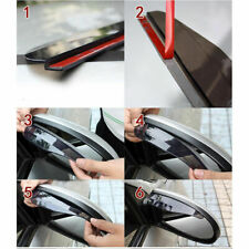 1pc Car Universal Rear View Side Mirror Rain Snow Guard Sun Visors Shade Shield