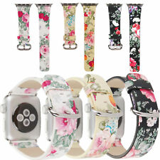 Fashion Lady Girl Leather Watch Band Wrist Belt For Apple Watch Series 2345