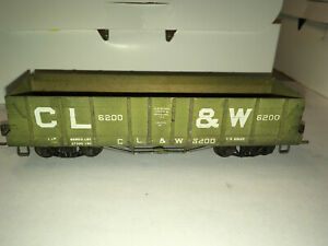 Scratch built HO CL&W Gondola car ref176