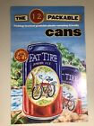 Fat Tire Amber Ale The 12 Packable Cans Poster, New Belgium Brewing
