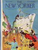 1961 New Yorker January 14 - Cruise ship in Jamaica