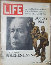 Life Magazine June 23, 1972 Alexander Solzhenitsyn WWII
