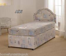 Superb Value 4ft Three Quarter Albi Divan Bed &Mattress