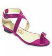Crocs You by Fiji pink pat leather sandals 9.5 Md NEW