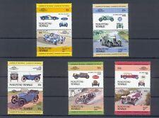 Nukufetau -Tuvalu / Satz 1 Auto 100 / Automobil Oldtimer ** Leaders of the World