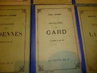 Adolphe Joanne Geographie du Département du GARD