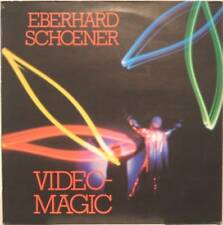 """EBERHARD SCHOENER """"VIDEO MAGIC"""" lp Italy mint - POLICE"""