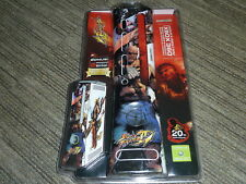 MICROSOFT XBOX 360 OFFICIAL STREET FIGHTER IV CONSOLE FACEPLATE SKINS BRAND NEW!