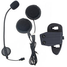 Helmet speaker Motorcycle Headset+Clip for V8 1200m BT Remote Bluetooth Intercom