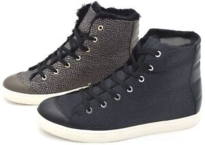 BORBONESE WOMAN SEAKER SHOES SPORTS CASUAL TRAINERS FREE TIME CODE 6DH980