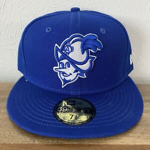 NWT New Era Albuquerque Dukes Isotopes MiLB 59Fifty Fitted Hat 7 1/4 Royal Blue
