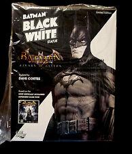 Batman DC Comics Black White Arkham Asylum Mini Statue New From 2011