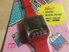 RARE- Reloj Quartz Juego Football (Similar Nintendo Game & Watch Mario or Casio)
