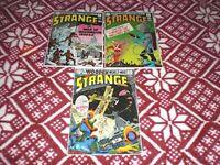 STRANGE ADVENTURES  NO.223 ,  NO.224  & NO.225   VF  1970    DC COMICS  LOT OF 3