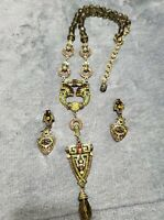 Heidi Daus Necklace And Earrings Set - GORGEOUS!!!