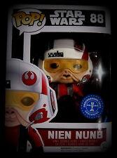 STAR WARS - Nien Nunb - Vinyl Figur - Limited Helmet Edition - Funko Pop!