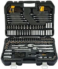 DEWALT Drive Ratchet Socket Wrench Hex Key Bit Mechanics Tool Set 200 Piece