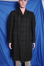 Vintage '50s Men's Metropolitan Town Wear by Prestige Wool plaid top coat 39