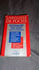 ★ Dictionnaire Larousse de poche★