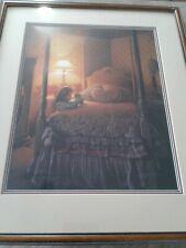 Greg Olsen Dont Forget To Pray limited edition print framed signed numbered