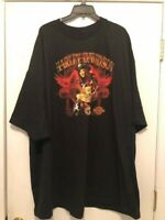 NWOT Harley Davidson Motorcycles Black Short Sleeve Graphic Tee SIZE 5XL
