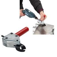 Doppelkopf Blech Nibbler Cutter Holder Werkzeug Bohrmaschine Aufsatz