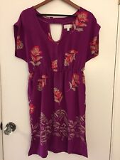 Anthropologie Moulinette Soeurs Silk Dress GUC - Size 10